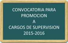 Convocatoria para Supervision